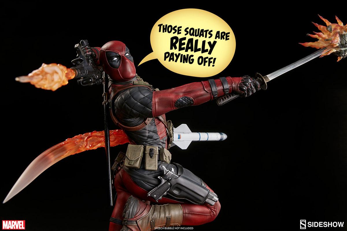 Sideshow Deadpool Heat-Seeker Premium Format Statue