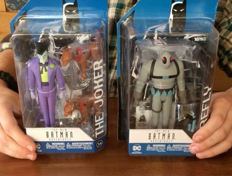 New Batman Adventures action figures