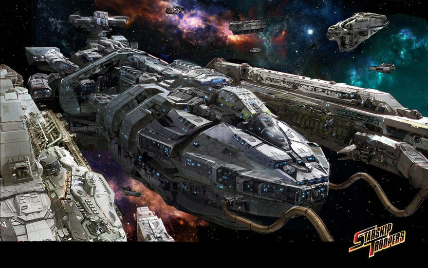 Starship Troopers artwork Starship Troopers Reboot Announced