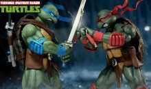DreamEx TMNT Raphael and Leonardo 1/6 Scale Figures Announced!
