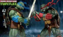 DreamEx TMNT Raphael and Leonardo 1/6 Scale Figures Announced!