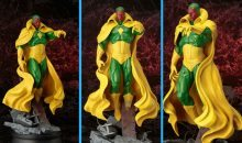 The Marvel Universe Vision Fine Art Statue is a Vision in Plastic