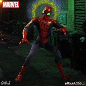 Mezco One:12 Collective Spider-Man action figure, Spidey-Sense