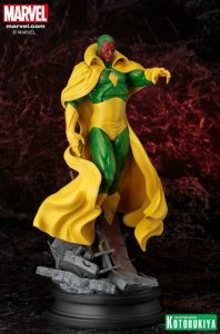 Kotobukiya Marvel Universe Vision Fine Art Statue