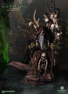 Damtoys Warcraft Epic Series Gul'Dan Statue
