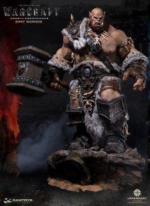 Damtoys Warcraft Epic Series Ogrim Doomhammer Statue