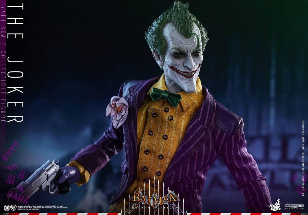 Hot Toys Arkham Asylum Joker action figure