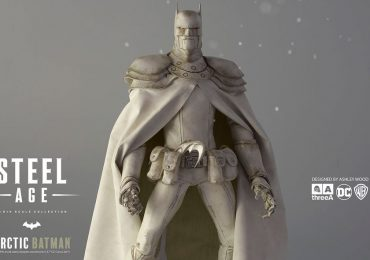 3A Ashley Wood Sixth Scale Steel Age Arctic Batman Action Figure