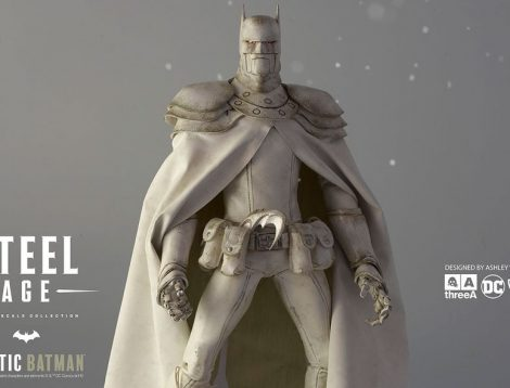 3A Ashley Wood Sixth Scale Steel Age Arctic Batman Action Figure