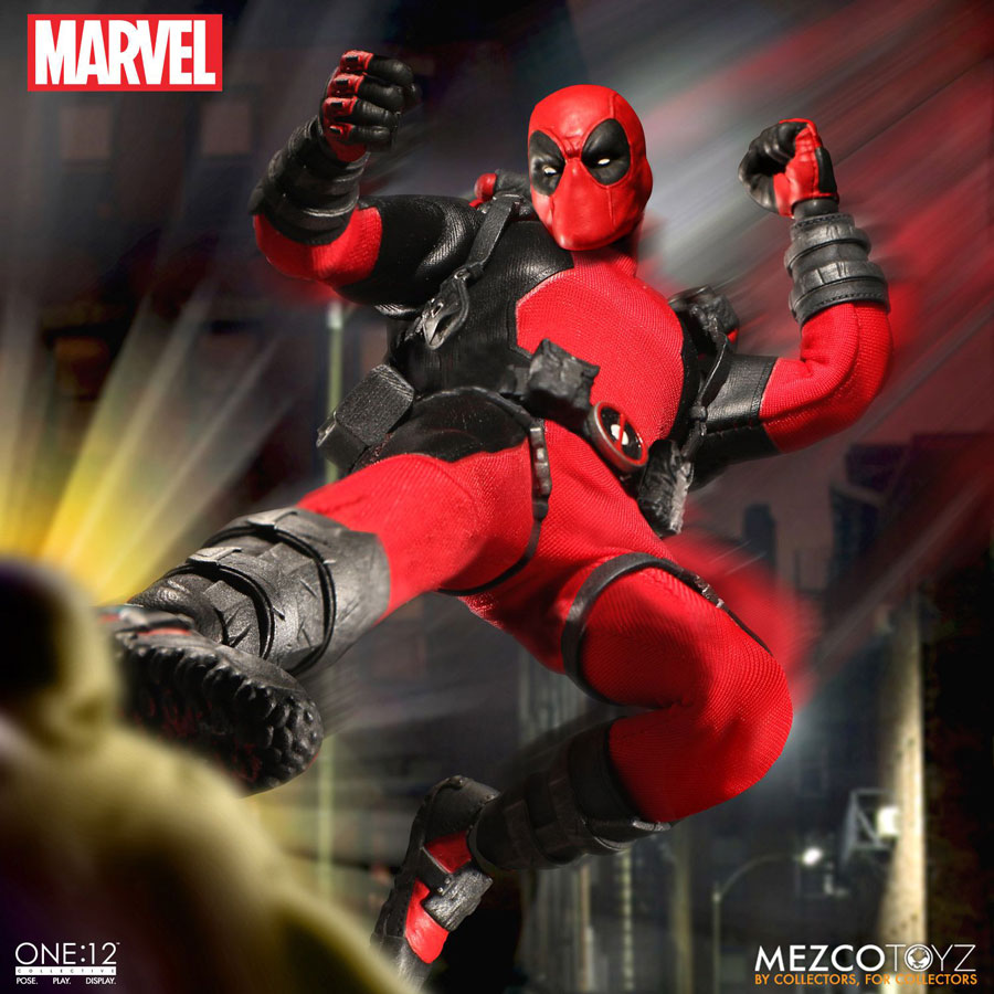 Mezco one 12 deadpool proves you can 39 t have enough of a for Headpool