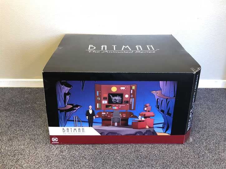 Batman the Animated Series Batcave Set, Packaging