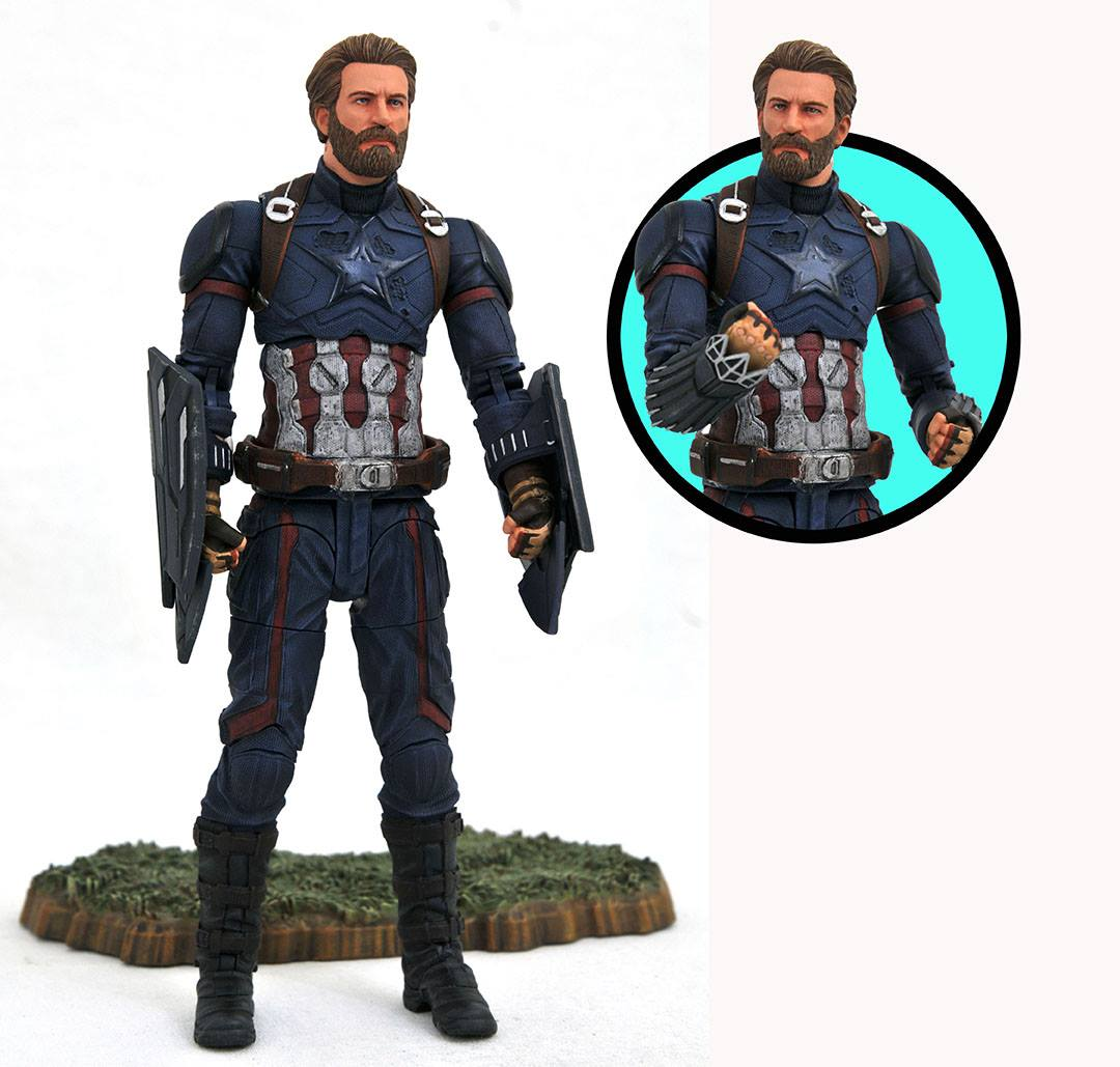 Diamond Select Marvel Infinity War Figures Action Figure Fury Funko Pop Avenger 3 Captain America Nomad All These Look Outstanding In Their Own Way And Are Must Haves For Me Theyll Be Released December Will Cost Around 2499