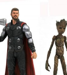 Diamond Select Marvel Select Infinity War Figures