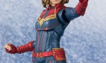 S.H Figuarts Captain Marvel Official Images and Details