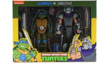 NECA Classic Cartoon TMNT 2-Packs By NECA!