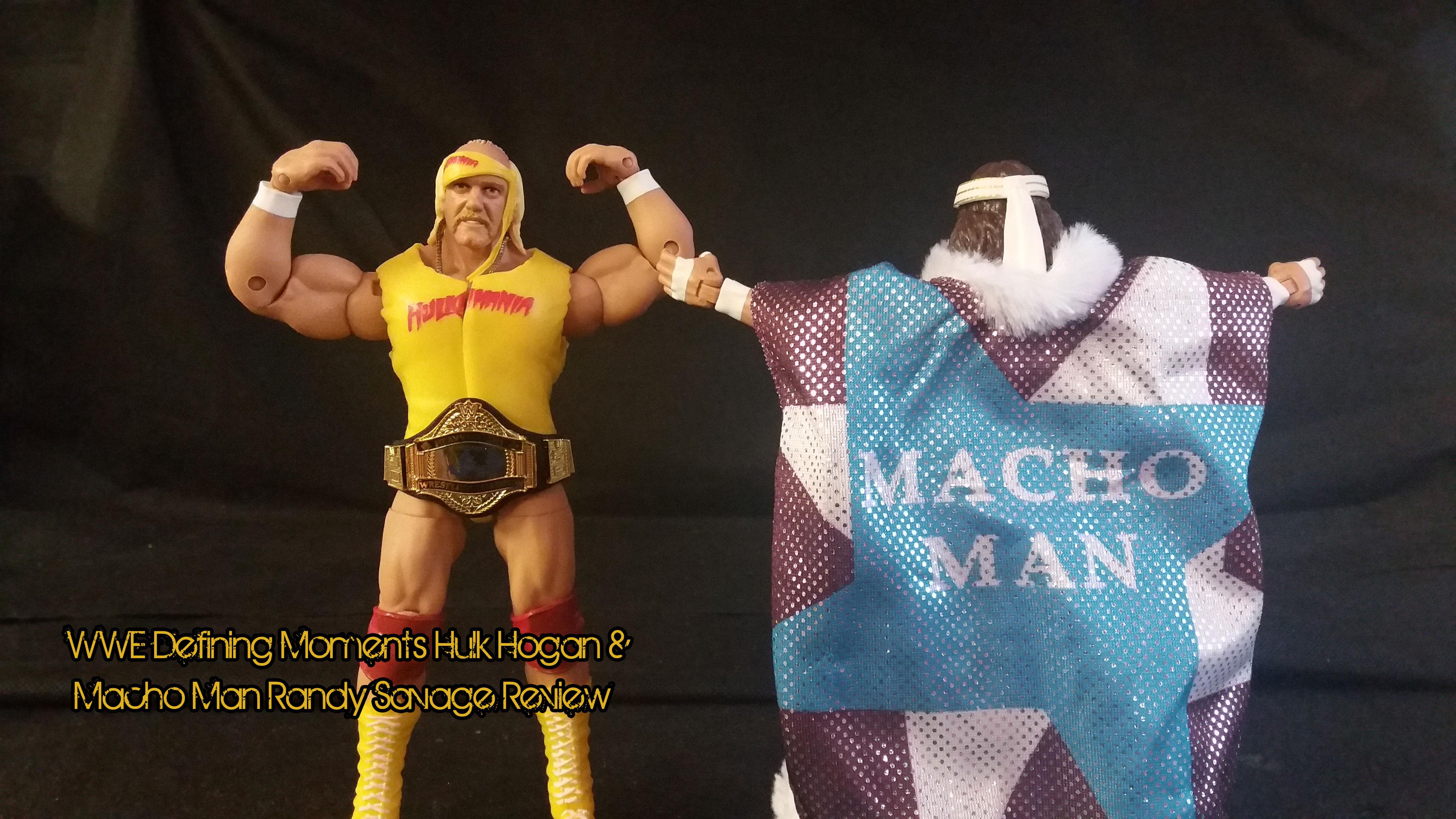 WWE Mattel Série Defining Moments Macho Man Randy Savage King Wrestling Figure