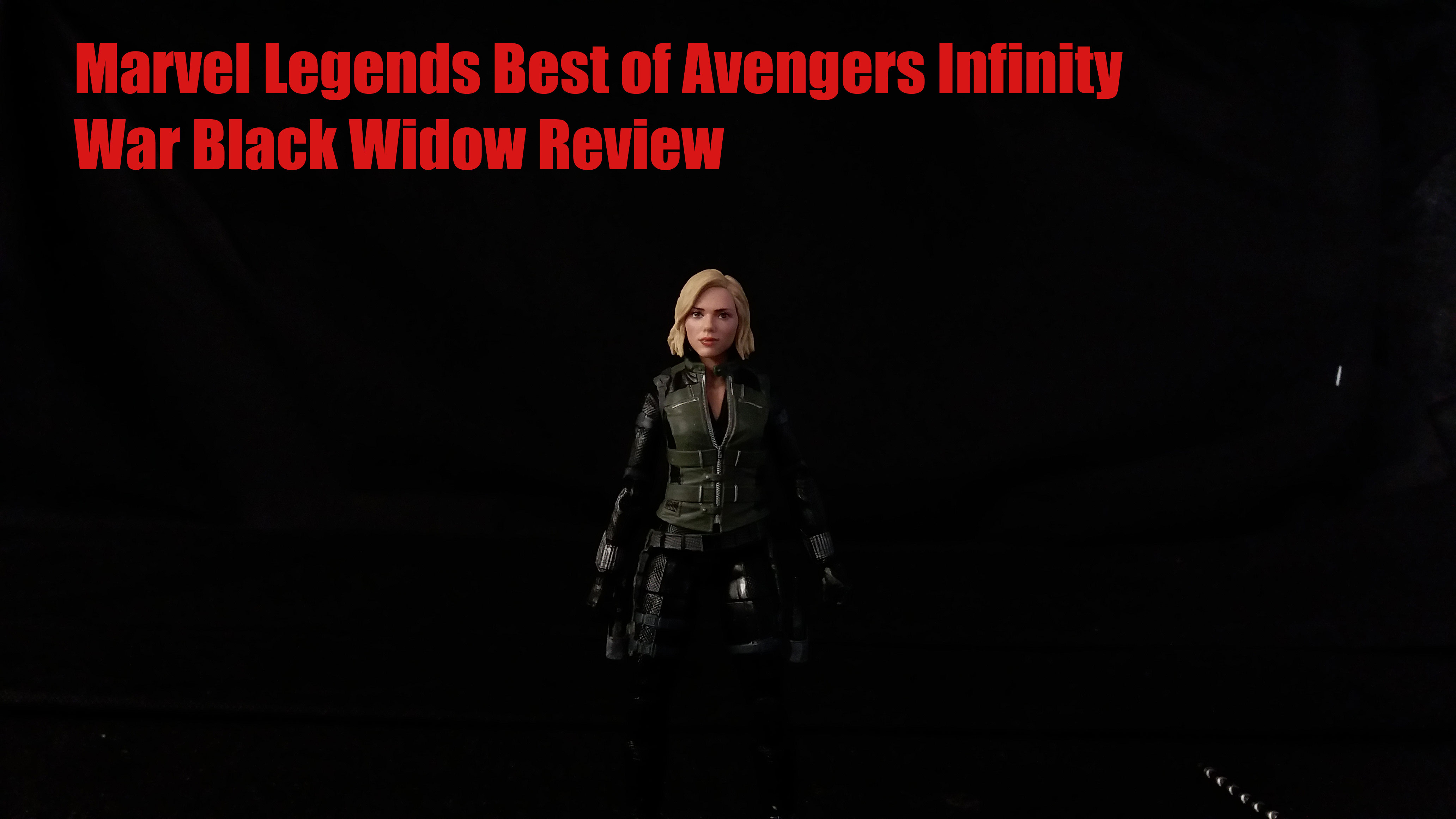 Marvel Legends Best Of Avengers Infinity War Black Widow