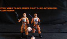 Star Wars Black Series Pilot Luke Comparison Review