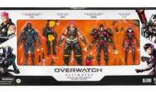 Gamestop Exclusive Overwatch Ultimate Carbon Skins 4-Pack