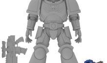 Bandai Warhammer 40,000 Space Marines Action Figures!