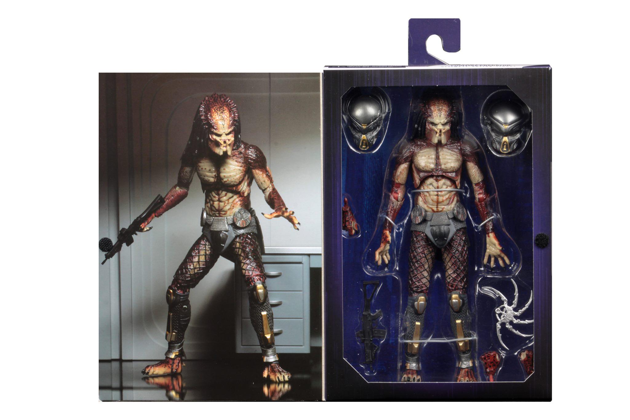 NECA PREDATOR Lab Escape fugitif Predator Ultimate Action Figure