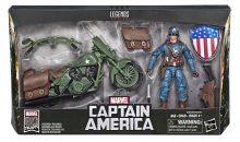 Marvel Legends WWII Captain America & Bike Set Update