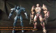 Diamond Select Toys Pacific Rim Uprising November Ajax & Valor Omega Review