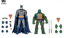DC Collectibles Reveal Batman vs TMNT Gamestop Exclusive Two-Packs