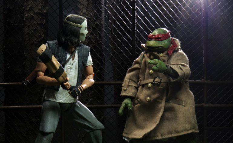 Teenage Mutant Ninja Turtles Original Movie Casey Jones Custom The Loyal Subjects Vinyl Figures TMNT