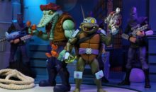 NECA Cartoon Teenage Mutant Ninja Turtles Series 3 Two-Packs and Metal Head and Ultimate Foot Soldier Sneak Peek.