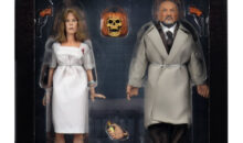 NECA Retro Halloween II Laurie Strode and Dr. Loomis Final Packaging Shots