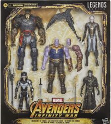 Marvel Legends The Children of Thanos 5 Pack Revealed and Pre-Orders Live