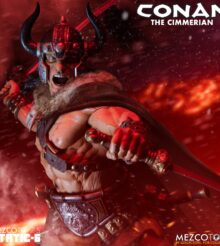 Mezco Toys Static Six – Conan The Cimmerian Statue Revealed & Up For Pre-Order