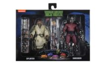 NECA TMNT 1990 Foot Soldier & Splinter and Shredder Two-Packs Up for Pre-Order from The NECA store.