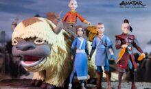 McFarlane Toys Avatar The Last Airbender figures.